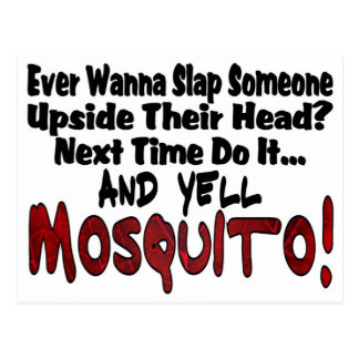 Slap Me & the Mosquito Postcard