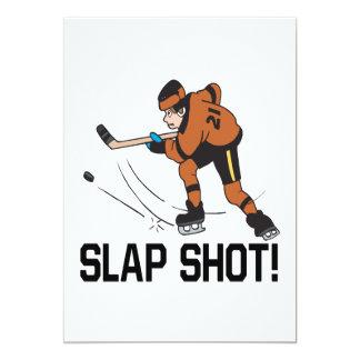 Slap Shot 13 Cm X 18 Cm Invitation Card