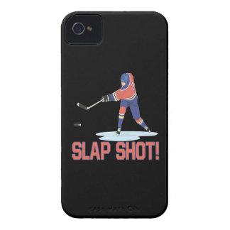 Slap Shot iPhone 4 Case-Mate Cases