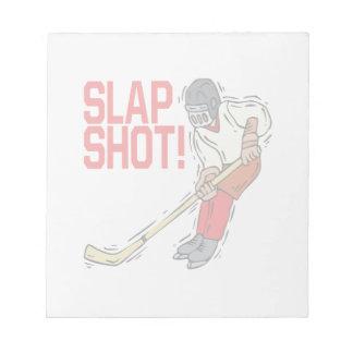 Slap Shot Notepad