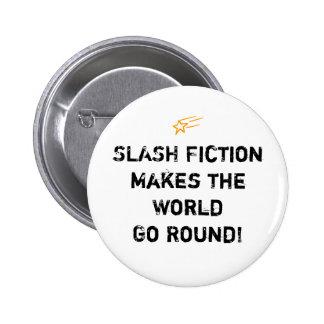 Slash Fiction Saying Button