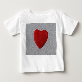 Slate background with heart baby T-Shirt