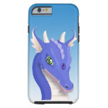 Slate Blue Dragon iPhone 6 Case