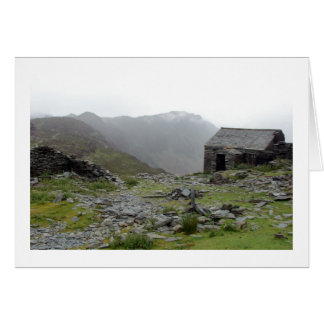 Slate bothy - Lake District Card