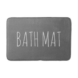 Slate Gray Bath Mat Bath Mats