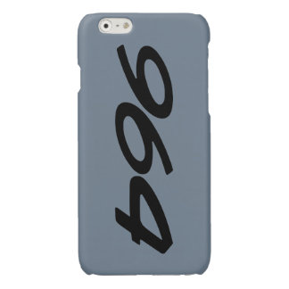 Slate grey 964 iPhone 6 plus case