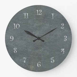 Slate Look Kitchen Wall Clocks