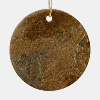 Slate Stone Background - Customized Template Blank Christmas Ornament