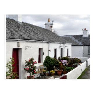Slate Worker Cottages Postcard