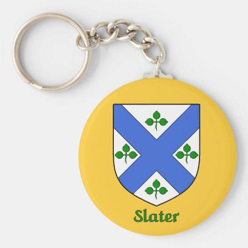 Slater Family Shield Keychain