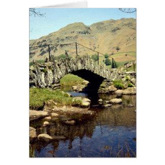 Slaters Bridge, Little Langdale, Cumbria, England Card