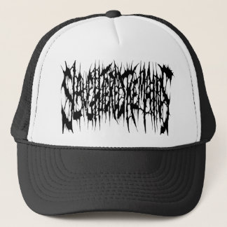 Slaughtered Remains - Black Logo Trucker Hat