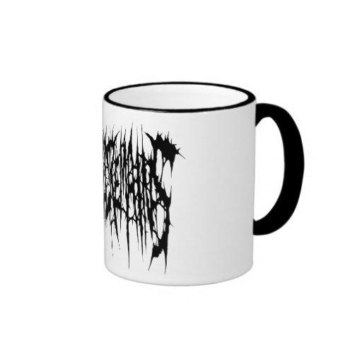 Slaughtered Remains - Coffee Mug (Black Logo)