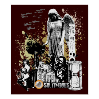 Slaughterhouse Art Poster $24.95