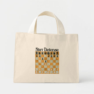 Slav Defense Canvas Bag