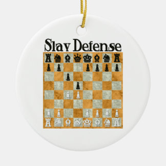 Slav Defense Ornament