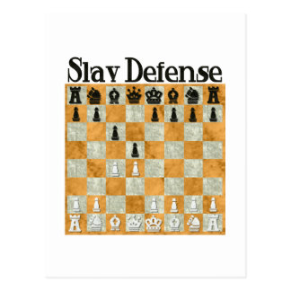 Slav Defense Postcard