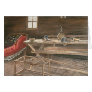 Slava Table and Bedroom Greeting Card