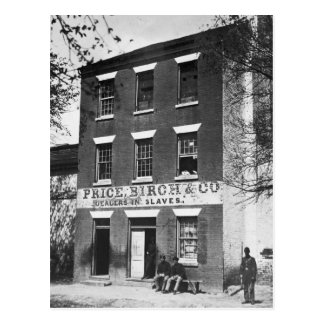 Slave Dealers 1860s Post Cards