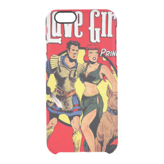 Slave Girl comics no.2 Clear iPhone 6/6S Case