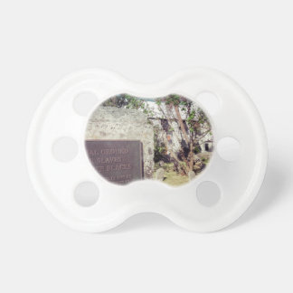 Slaves Burial Ground Baby Pacifier