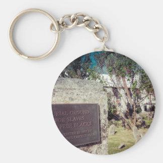Slaves Burial Ground Key Ring
