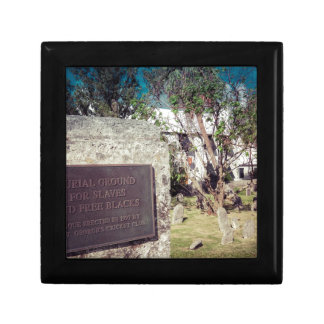 Slaves Burial Ground Small Square Gift Box