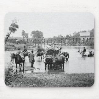 Slaves Fording the Rappahannock 1862 Mousepad