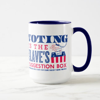 Slave's Suggestion Box Mug