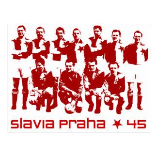 Slavia Praha Postcard