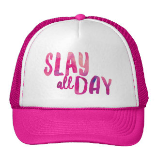 Slay All Day Trucker Hat