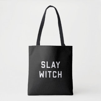 Slay Witch Halloween Tote Bag