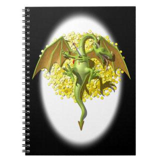 Slayed Dragon Spiral Notebook