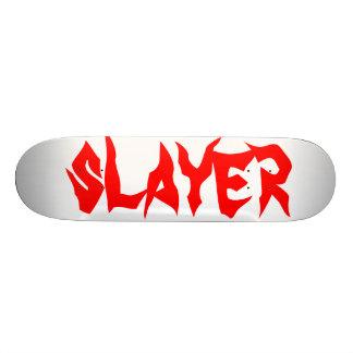 slayer 21.3 cm mini skateboard deck