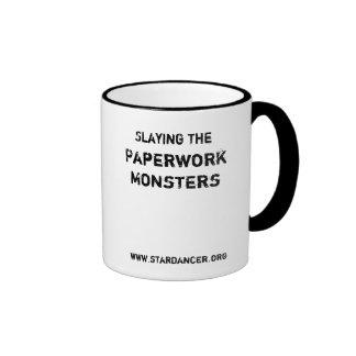 Slaying the Paperwork Monster Mug