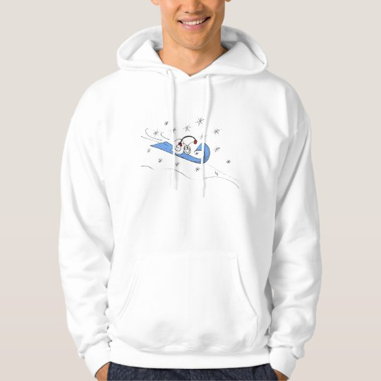 Sled Fast, Fast Snail® Hoodie