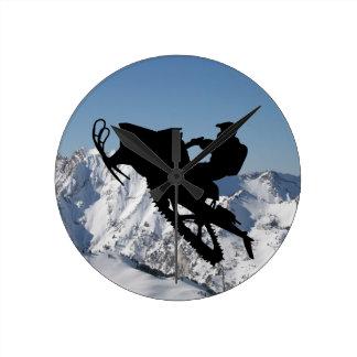 Sled Mountain Clock