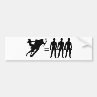 Sledder Gurlz bumper sticker