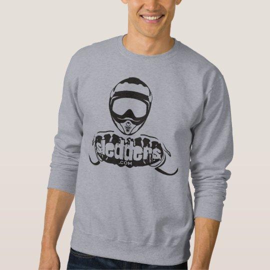 Sledders.com Grey Sweatshirt