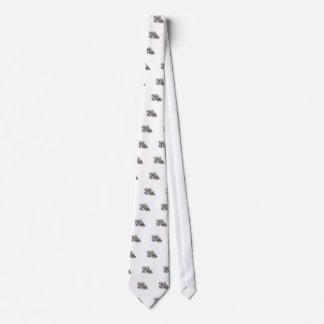 Sledding Dalmatian Pups Tie