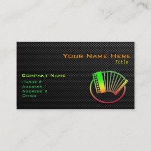 Accordion Business Cards Zazzle Uk