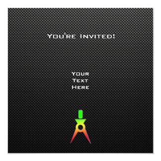 Sleek Architect 13 Cm X 13 Cm Square Invitation Card