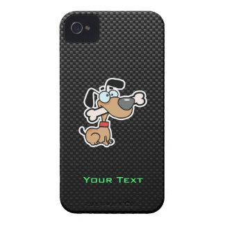 Sleek Cartoon Dog iPhone 4 Cover
