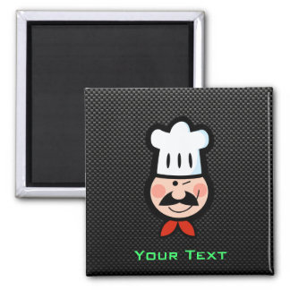 Sleek Chef Fridge Magnets