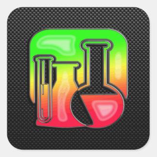 Sleek Chemistry Square Sticker