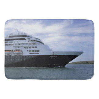 Sleek Cruise Ship Bow Bath Mat