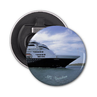 Sleek Cruise Ship Bow Bottle Opener