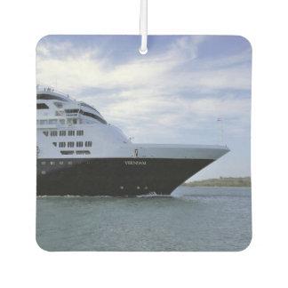Sleek Cruise Ship Bow Car Air Freshener