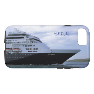 Sleek Cruise Ship Bow Monogrammed iPhone 8/7 Case