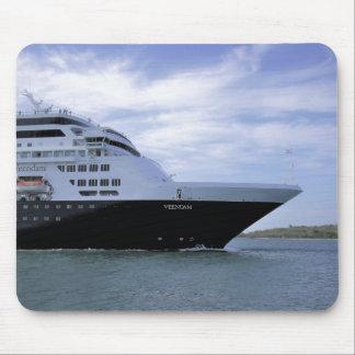 Sleek Cruise Ship Bow Mouse Mat